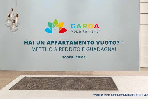 Metti a reddito il tuo appartamento sul lago di Garda | Con Garda Appartamenti potrai metterlo a reddito e iniziare a guadagnare!