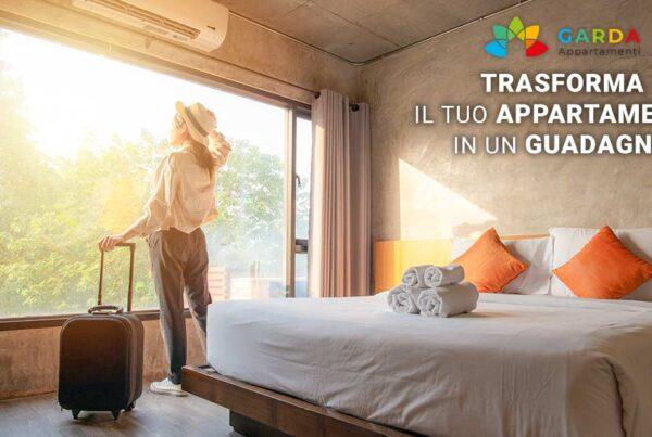 Gestione completa appartamenti sul lago di Garda | Richiedi la gestione del tuo appartamento sul lago di Garda e trasformalo in un guadagno!
