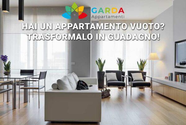 Come trasformare il proprio appartamento in guadagno | Con Garda Appartamenti potrai finalmente iniziare a guadagnare.