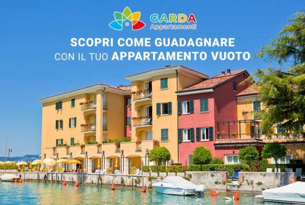 Scopri come guadagnare con il tuo appartamento vuoto | Il tuo appartamento sul lago di Garda può diventare una fonte di guadagno!