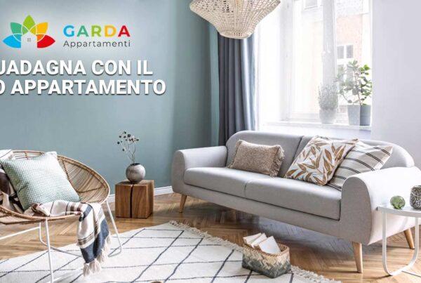 Guadagna con il tuo appartamento | Metti a reddito la tua seconda casa sul lago di Garda, contattaci ora e inizia a guadagnare!