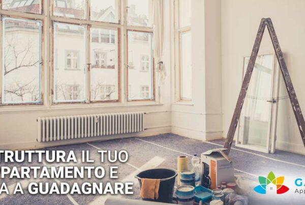 Ristruttura il tuo appartamento sul lago di Garda e trasformalo finalmente in un guadagno con Garda Appartamenti!