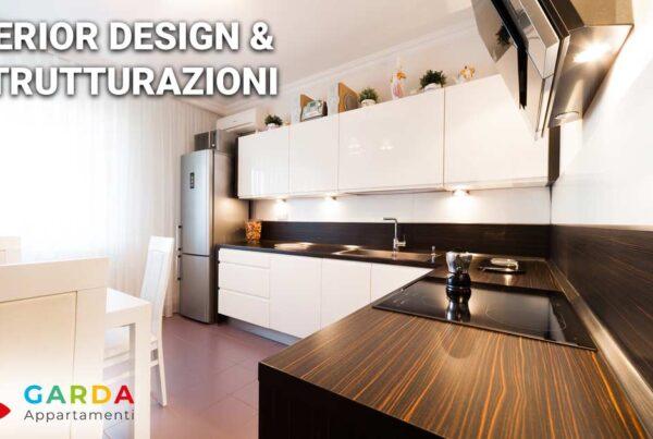 Interior design appartamenti sul lago di Garda | Ristrutturazione appartamenti, dalla progettazione alla consegna dell'appartamento finito.