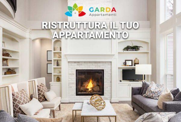 Ristruttura il tuo appartamento sul lago di Garda | Andremo a progettare e realizzare la soluzione migliore per il tuo appartamento.